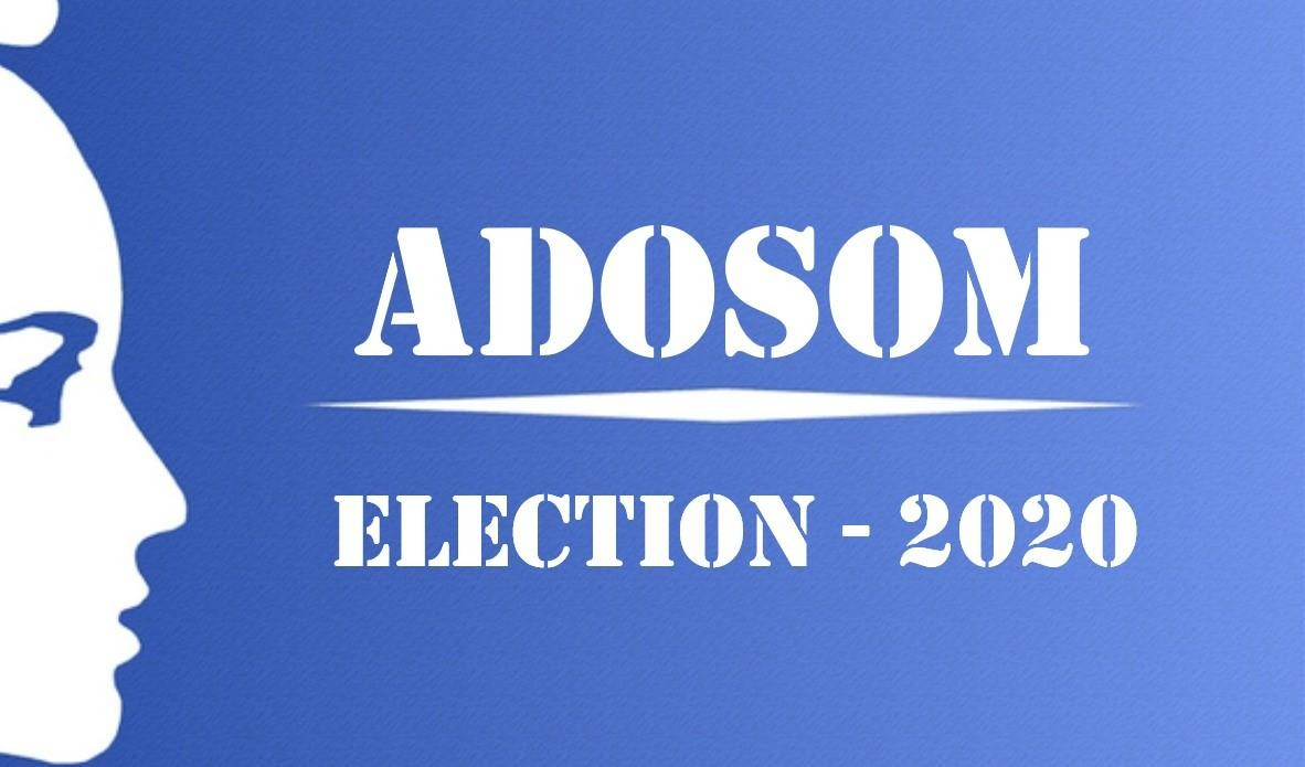 Election Bureau ADOSOM 2020